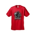 MEN'S BIKER T-SHIRT High Roller SKULL IN TOP HAT DICE ROYAL FLUSH S-2X 3X 4X 5X - Thumbnail 7