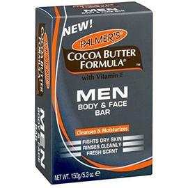 Palmer's Cocoa Butter Formula with Vitamin E Men Body & Face Bar, 3.5 oz