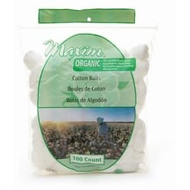 Maxim Hygiene Products Cotton Balls, Jumbo Size 100 ea|https://ak1.ostkcdn.com/images/products/is/images/5ea2c9f2-5807-499f-861f-b4bf58ad47e2/Maxim-Hygiene-Products-Organic-Cotton-Balls%2C-Jumbo-Size-100-ea_270_270.jpg?impolicy=medium