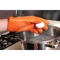 Heat Resistant Silicone Cooking BBQ Gloves, Heavy Duty - Thumbnail 10
