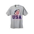 Men's T-Shirt USA Flag Football Game Pride American Sports Bar Beer Patriotic - Thumbnail 5