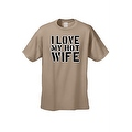 Men's Funny T-Shirt I Love My Hot Wife Adult Humor Tee Husband Marriage S-5XL - Thumbnail 8