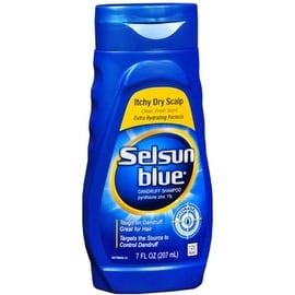 Selsun Blue Dandruff Shampoo Itchy Dry Scalp 7 oz