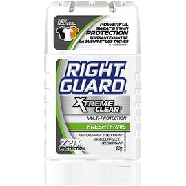 Right Guard Xtreme Clear Invisible Solid Antiperspirant & Deodorant, Fresh 2.60 oz