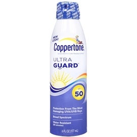 Coppertone UltraGuard Continuous Spray Sunscreen SPF 50 6 oz