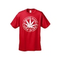 MEN'S FUNNY T-SHIRT Made in Nature MARIJUANA WEED GRASS POT SMOKING LEAF S-5XL - Thumbnail 4
