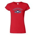 JUNIORS T-SHIRT World's Best Mom MOTHER TEE MOMMY SUPER MAMMA SPORTS TOP S-2XL - Thumbnail 3