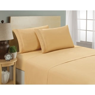 HC COLLECTION-Premium 1500 Series Bed Sheets, Hotel Quality Luxury Soft, Deep Pocket, Hypoallergenic, Wrinkle & Fade Resistant