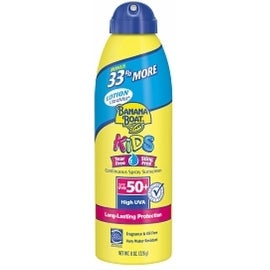 Banana Boat 6-ounce Kids Continuous Spray Sunscreen SPF 50