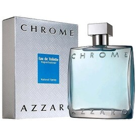 Chrome by Azzaro Eau De Toilette Spray for Men 1.70 oz