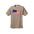 Men's USA Flag T Shirt Patriotic Country Pride Stars & Stripes Proud American - Thumbnail 6