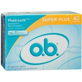 o.b. Tampons Super Plus 40 Each