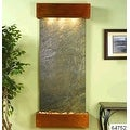 Adagio Inspiration Falls Wall Fountain Green FeatherStone Rustic Copper - IFS101 - Thumbnail 8