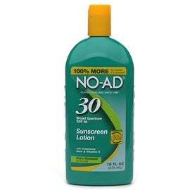 NO-AD 16-ounce Sunscreen Lotion SPF 30
