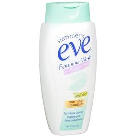 Summer's Eve Feminine Wash Sensitive Skin Morning Paradise 15 oz