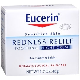 Eucerin Redness Relief Soothing Night Creme 1.70 oz