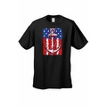Men's USA Flag T-Shirt Anchor Navy Stars & Stripes Sailor American Pride Tee - Thumbnail 6