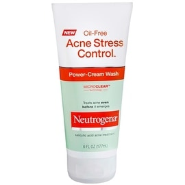 Neutrogena Acne Stress Control Oil-Free Power-Cream Wash 6 oz