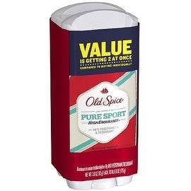 Old Spice High Endurance Antiperspirant & Deodorant, Twin Pack, Pure Sport 3 oz, 2 ea