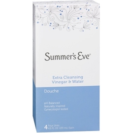 Summer's Eve Douches Extra Cleansing Vinegar and Water 4 Each