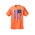 MEN'S AMERICAN FLAG T-SHIRT USA Ripped Distressed Flag STARS & STRIPES S-5XL TEE - Thumbnail 6