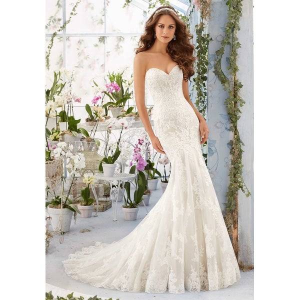 Mori Lee Women\'s Bridal Gown - Free Shipping Today - Overstock ...