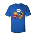MEN'S T-SHIRT I Am Your Father! FUNNY POTATO AND FRENCH FRIES S-XL 2X 3X 4X 5X - Thumbnail 4