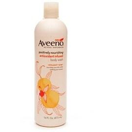 AVEENO Active Naturals Positively Nourishing Antioxidant Infused Body Wash White Peach + Ginger 16 oz