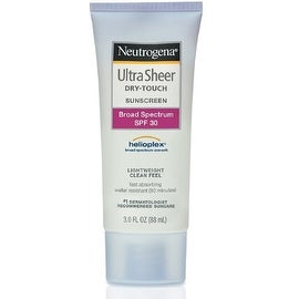 Neutrogena 3-ounce Ultra Sheer Dry-Touch Sunscreen Lotion SPF 30