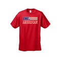 Men's T-Shirt USA Flag Pride 100-percent American Stars & Stripes Old Glory Patriotic Tee - Thumbnail 7