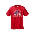 Men's T-Shirt USA Flag Pride Property of Athletic Dept. 1776 Old Glory Patriotic - Thumbnail 4