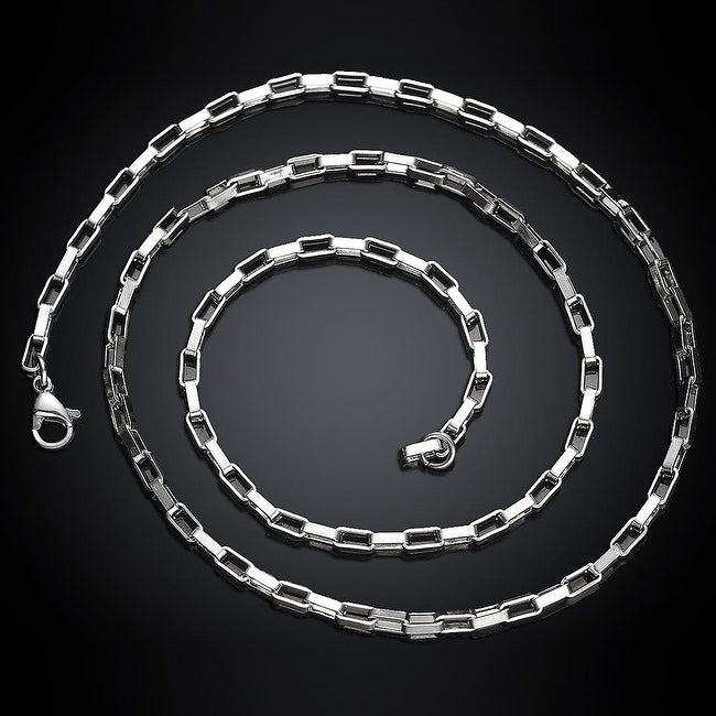 Classic 5th Avenue Stainless Steel Men's Chain 20 inches