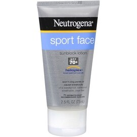 Neutrogena Sport 2.5-ounce Face Sunscreen Lotion SPF 70+