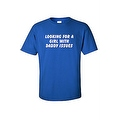 MEN'S FUNNY T-SHIRT Looking For A Girl With Daddy Issues ADULT SEX HUMOR S-5XL - Thumbnail 3