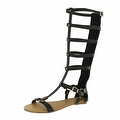 Red Circle Footwear Women's 'Anlia' Gladiator Sandal - Thumbnail 2
