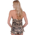 Women's Camo 2-Piece Bikini Bathing Tankini & String Shorts Beach Swimwear Swimsuit - Thumbnail 1