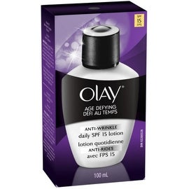 OLAY Age Defying Anti-Wrinkle Daily SPF 15 Lotion 3.40 oz