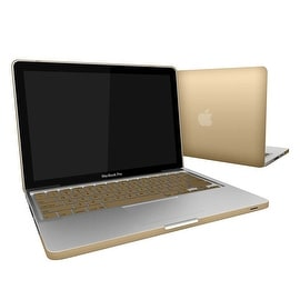 Rubberized Hard Shell Case Cover With Keyboard Cover MacBook Pro 13 Inch A1278 (Option: Multi)