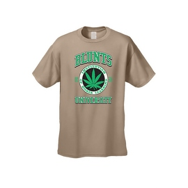 Men's T-Shirt Blunts Institution Of Higher Learning Uni. 420 Weed Pot Marijauna