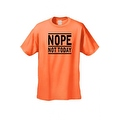 Men's T-Shirt Funny Nope Not Today Adult sex Humor Tee No Means No S-5XL - Thumbnail 0
