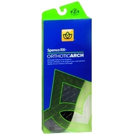 Spenco RX 3/4 Length Orthotic Arch Supports Size 2 (1 Pair)