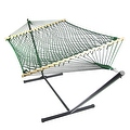 Sunnydaze Caribbean XL Rope Hammock with Spreader Bars - Multiple Colors Availab - Thumbnail 21
