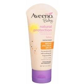 AVEENO Active Naturals Baby Natural Protection SPF 50+ Lotion 3 oz
