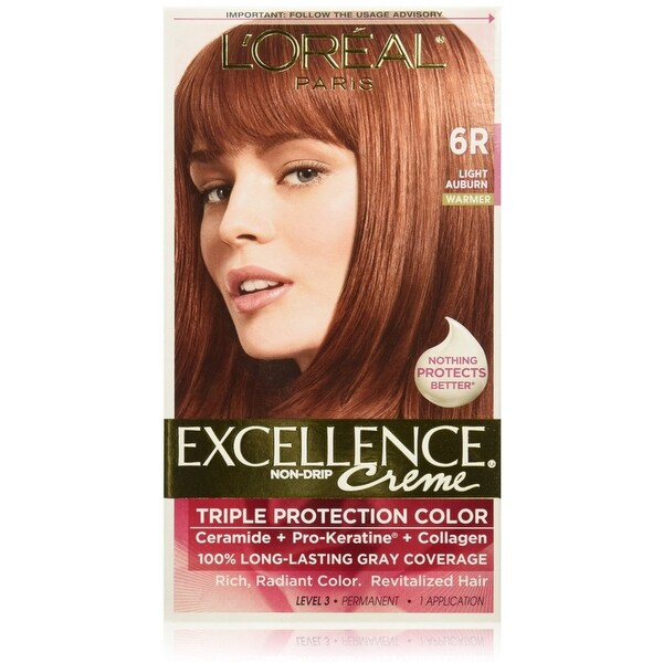Light Shop Near Auburn: L'Oreal Paris Excellence Creme Triple Protection Hair