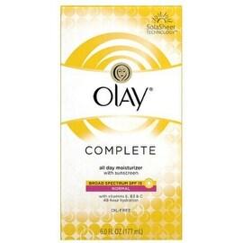 OLAY Complete All Day UV Moisturizer SPF 15 Normal 6 oz