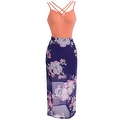 Sexy Women Sleeveless Prom Ball Cocktail Party Long Dress Formal Evening Gown - Thumbnail 17