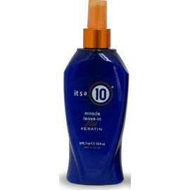 It's a 10 10-ounce Miracle Leave-In plus Keratin Spray