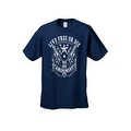 Men's T-Shirt Live Free or Die 2nd Amendment Guns Constitution Gun Control - Thumbnail 5