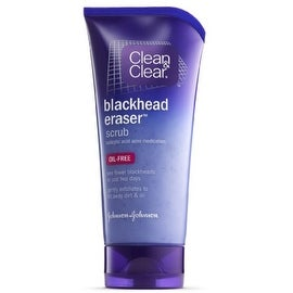 CLEAN & CLEAR Blackhead Eraser Scrub Oil-Free 5 oz