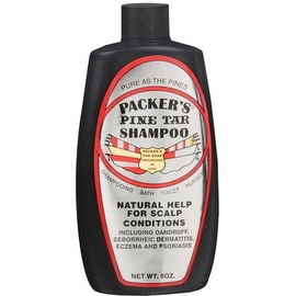 PACKER'S Pine Tar 8-ounce Shampoo